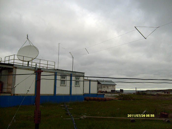 "Полярная метеостанция мыс ""Белый Нос"". 910"