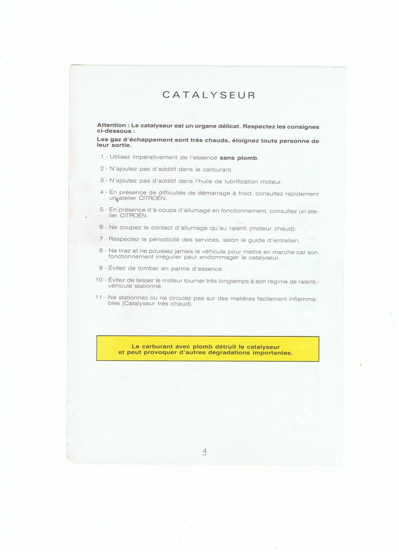 Manuel d'utilisation de la Citroën phase 2 (partie 1) 00212