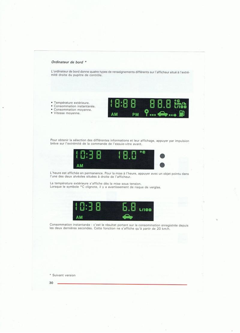 Manuel d'utilisation de la Citroën phase 1 (partie 1) 03010