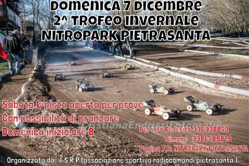 7 dicembre secondo trofeo invernale NITROPARK PIETRASANTA  Pietra10