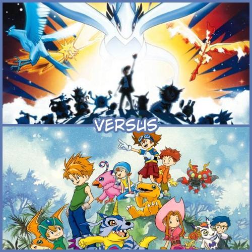 [VERSUS] Pokemon VS Digimon 0110