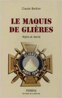 """"""" La Maquis de Glières: Mythe ou réalité ? """" de Claude Barbier. Sans-t11"""
