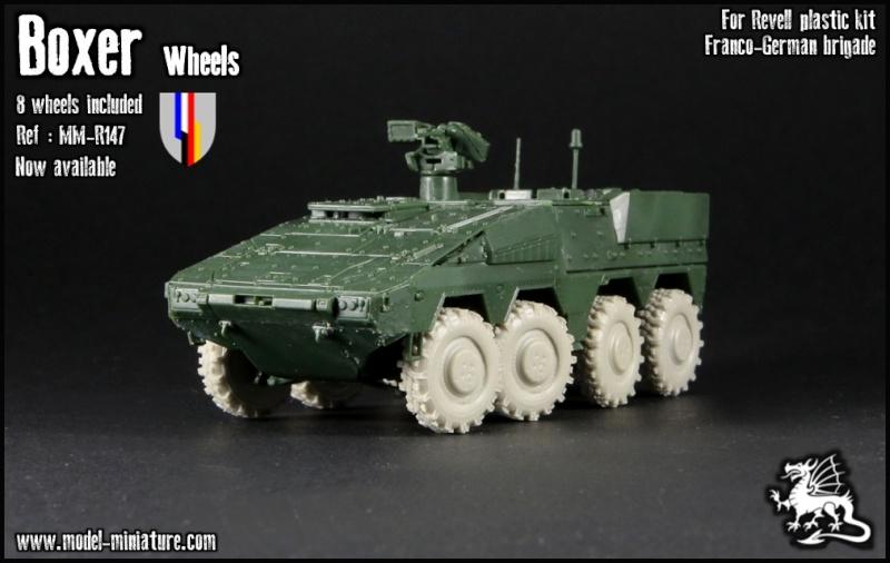 """Nouveautés Model Miniature: VAB P """"Felin"""" et roues de Boxer Boxe10"""
