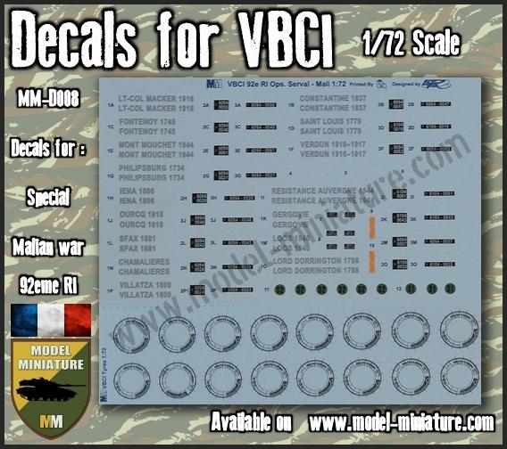 vbci - Nouveautés Model Miniature: Decals VBCI, Buffalo, AMX-10 RCR / Separ chez Model Mniature Vbci_s10