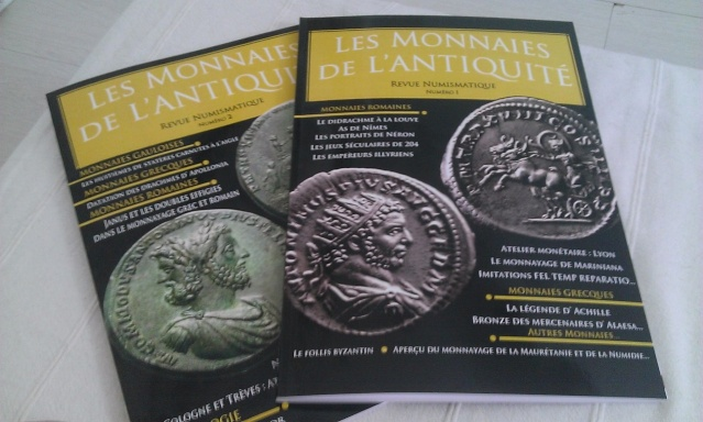 """LA REVUE NUMISMATIQUE """"MONNAIES DE L'ANTIQUITE"""" Wp_20126"""