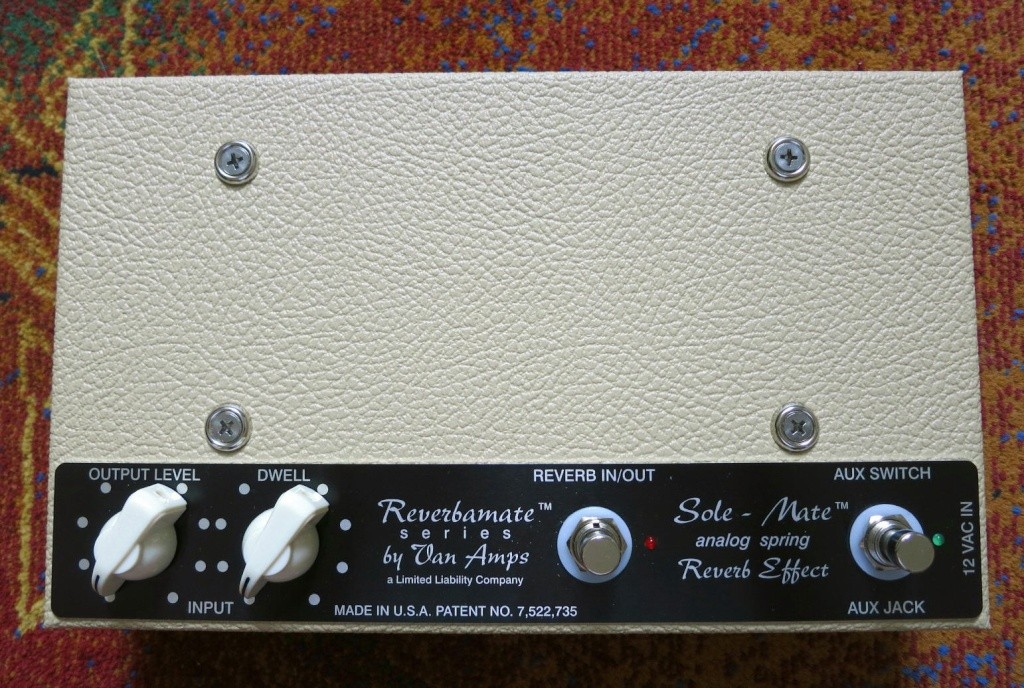 VanAmps Sole-Mate Spring Reverb Pedal  Sole_m12