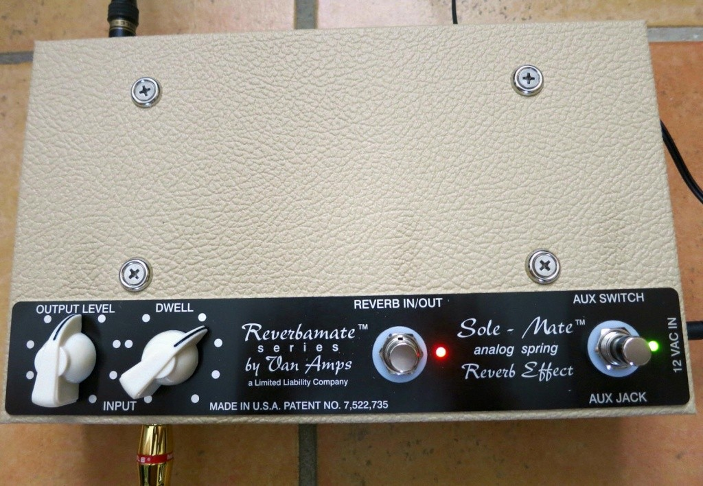 VanAmps Sole-Mate Spring Reverb Pedal  Sole_m13