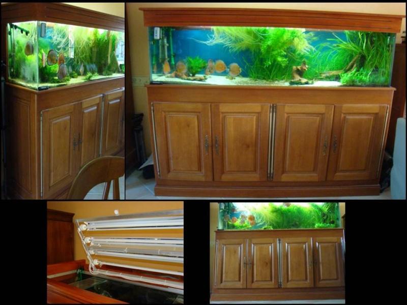 Aquarium complet 600l et materiel Bac10