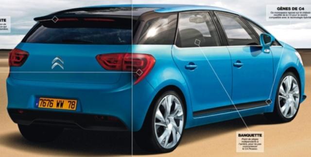 """Nouvelle gamme """"DS"""" de Citroën Illust11"""