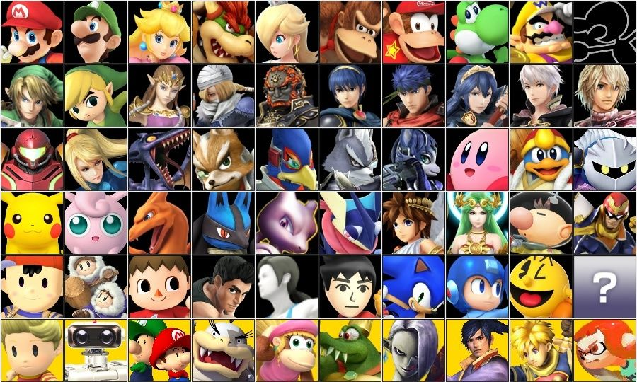 Le roster final de Super Smash Bros. for Wii U / 3DS (Débat/Discussion) Roster10