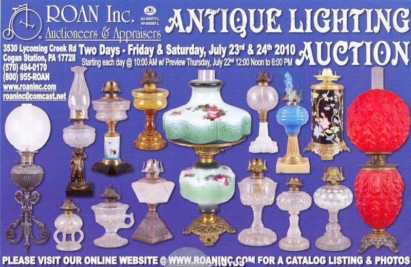 Roan Antique Lighting Auction July 23-24, 2010 Roan_a10