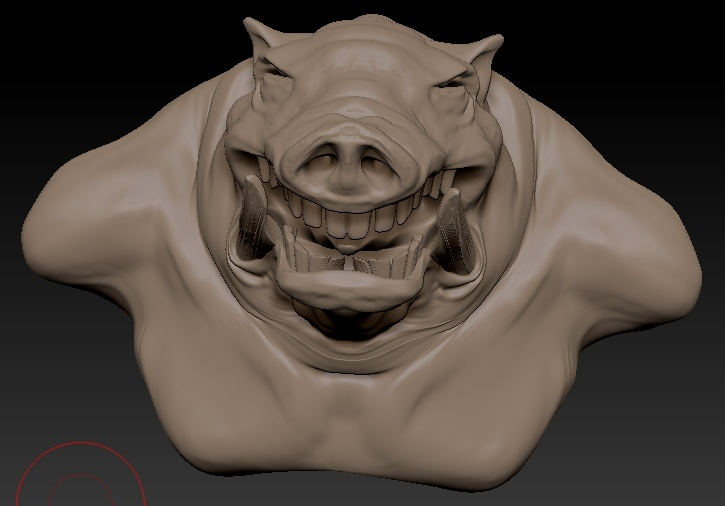 3D with Zbrush. Homme_10