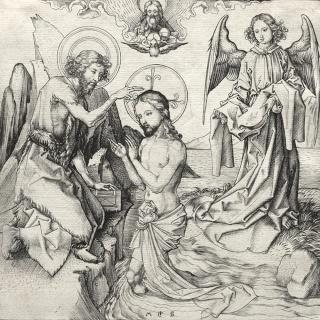 Salvator Mundi · Mater Salvatoris / Jesucristo crucificado y oración, S.XVII (RM.SXVII-O329) Clevel10