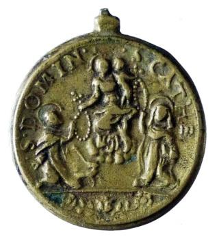 Proyecto recopilación medallas Santo Domingo de Guzmán  St_dom11