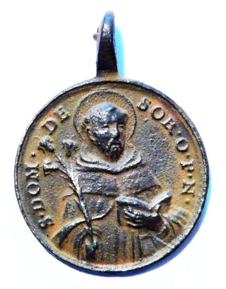 Proyecto recopilación medallas Santo Domingo de Guzmán  St_dom18