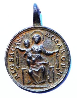 Proyecto recopilación medallas Santo Domingo de Guzmán  St_dom19