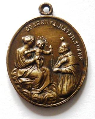 Proyecto recopilación medallas Santo Domingo de Guzmán  St_dom24