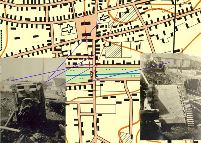 Помогите опознать мост в Ружанах на фото времен ВОВ 194110