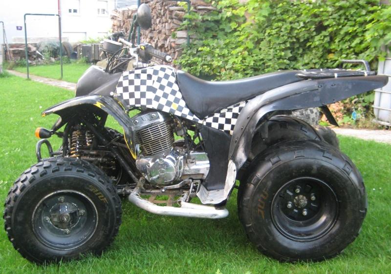 Vds quad 250 SMC Barossa 2004 homologué 2 personnes 00712