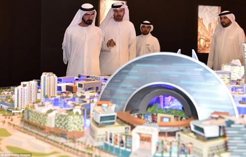 مول العالم في دبي: أول مدينة مكيفة وأكبر مركز تسوق في العالم! 110