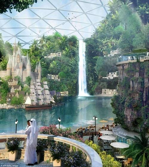 مول العالم في دبي: أول مدينة مكيفة وأكبر مركز تسوق في العالم! 210