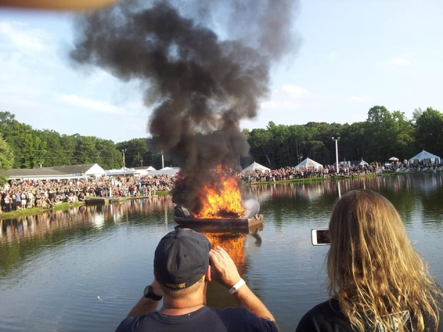 A Viking Funeral C10