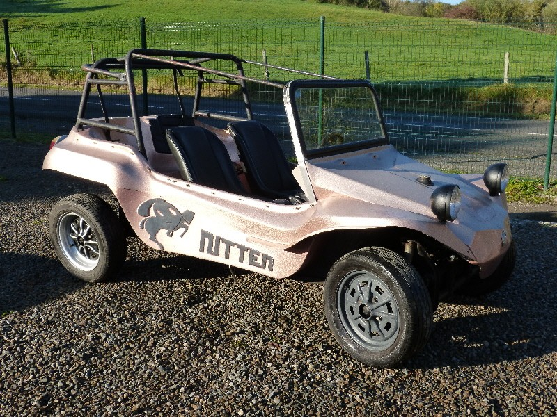 BUGGY  RITTER COURT 1968 A RESTAURER P1070634