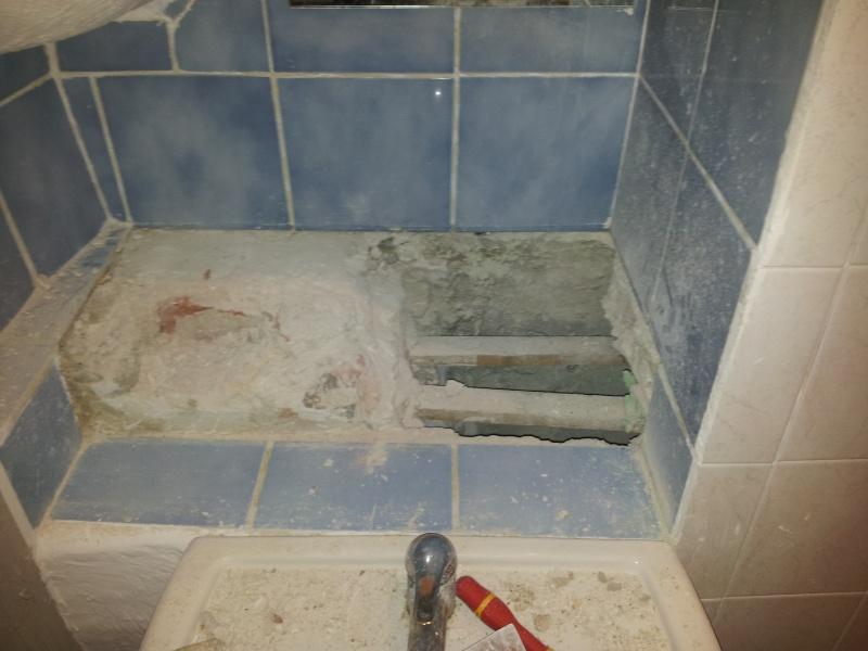 installation lavabo et mauvaise surprise 20141210