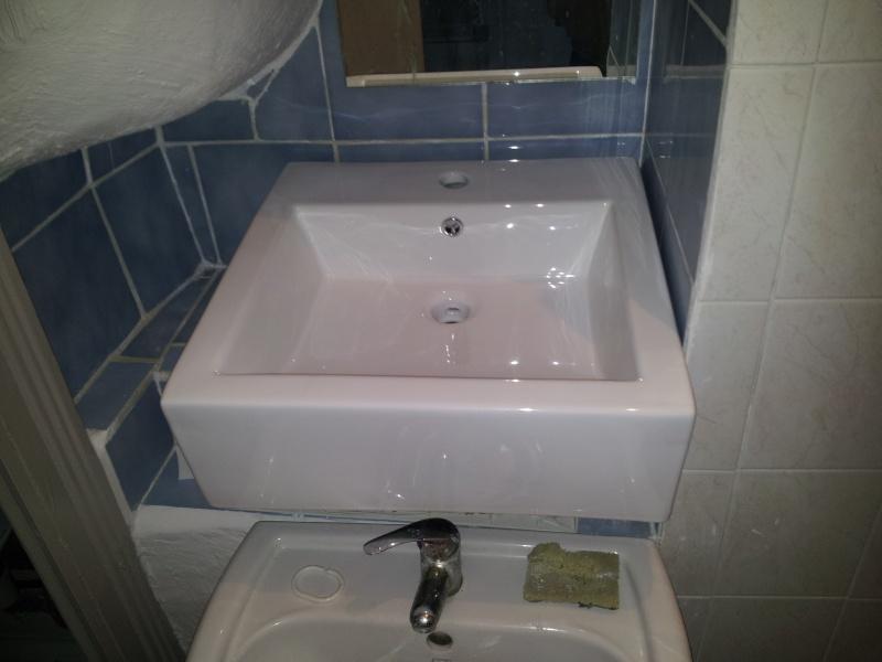 installation lavabo et mauvaise surprise 20141211
