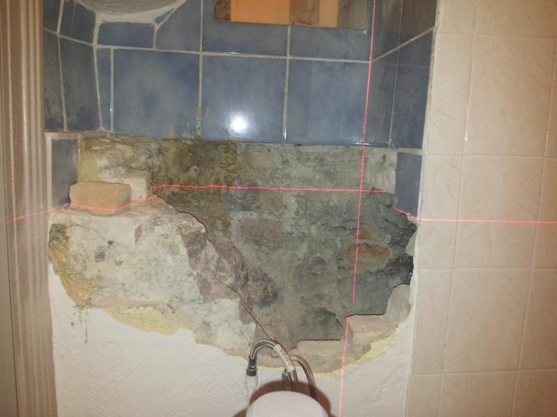 installation lavabo et mauvaise surprise Lavabo10