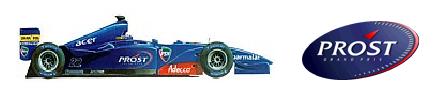 Equipes e Pilotos - 14ª Temporada / Teams and Drivers - 14th Season Prost010