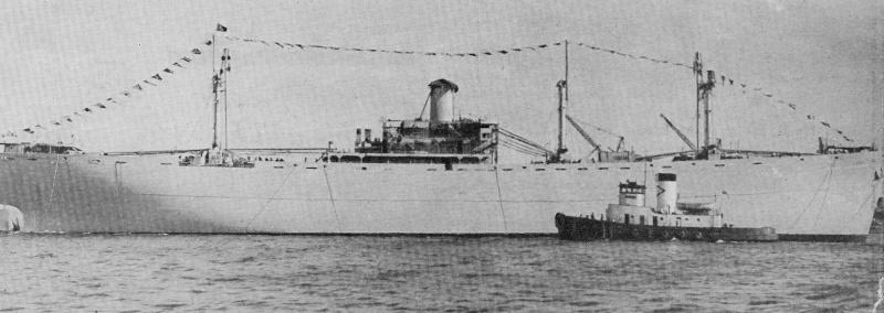 un LIBERTY ship au nom belge Jesse_12