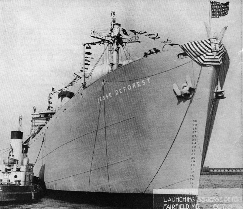 un LIBERTY ship au nom belge Jesse_13