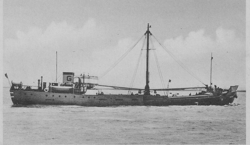 MARIE-FLORE  coaster belge au débarquement de Normandie Marie-10