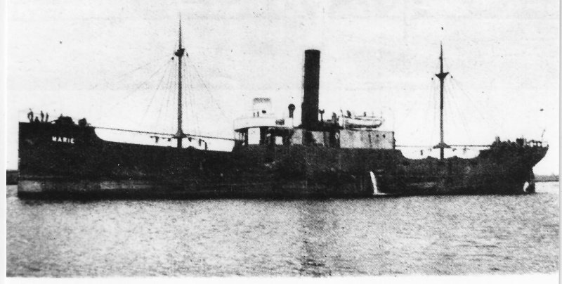 MARIE steamer belge en Normandie 1944 Marie_10
