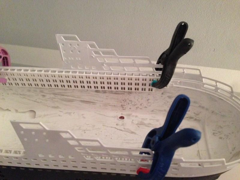 construction du queen mary 2 au 1/400 de chez revell Img_0631