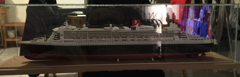 construction du queen mary 2 au 1/400 de chez revell - Page 10 Img_1118