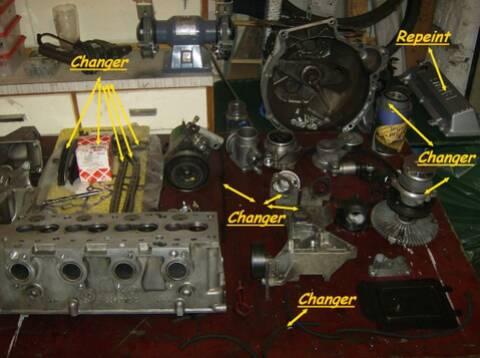 Moteur M41 318 tds ] Remise en état du moteur complet