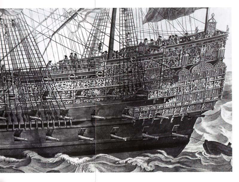 Sovereign of the Seas da Piani Amati Modificati (Tuvok) Payne110