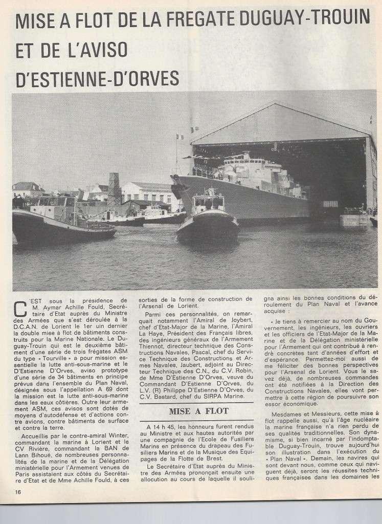 DUGUAY TROUIN (FRÉGATE) - Page 5 Scan0059