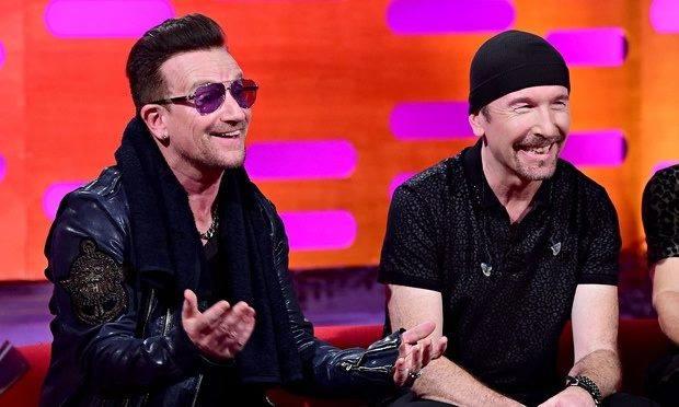 Bono: 'I miei occhiali non sono un vezzo ma una malattia' Bono10
