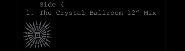 """Disponibile The Crystal Ballroom 12"""" Mix per gli iscritti a U2.com U2cr10"""
