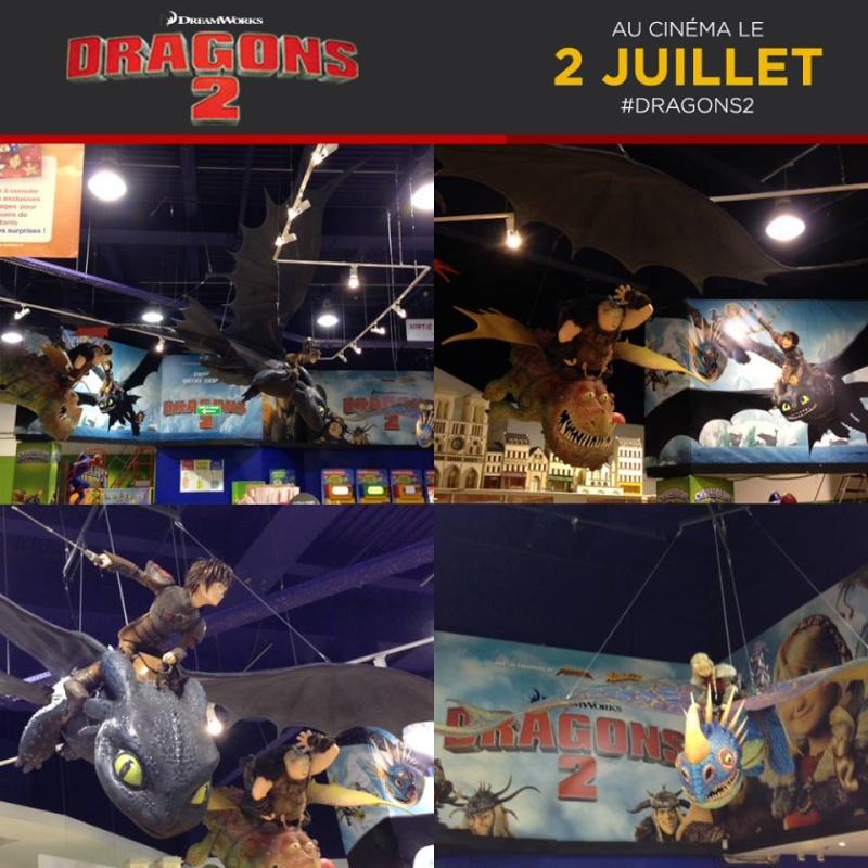 Dragons 2 [sans spoilers] DreamWorks (2014) 10486010