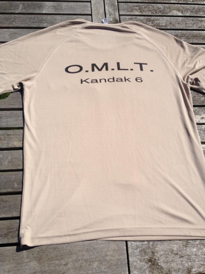 tee shirt OMLT K6/201°CORPS armé par 9°BLBMa 2014-190
