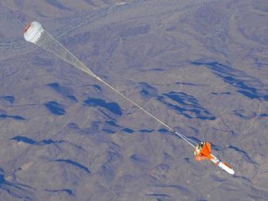 Forme de la capsule d'essai des parachutes 10863210