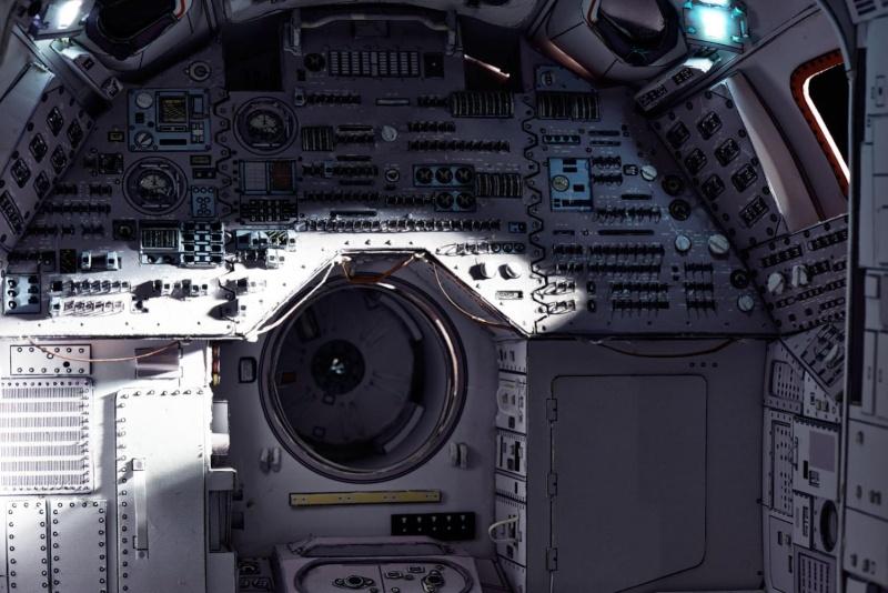 [maquette papier] Apollo command module - 1:12  Billys10