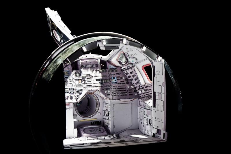 [maquette papier] Apollo command module - 1:12  Billys13