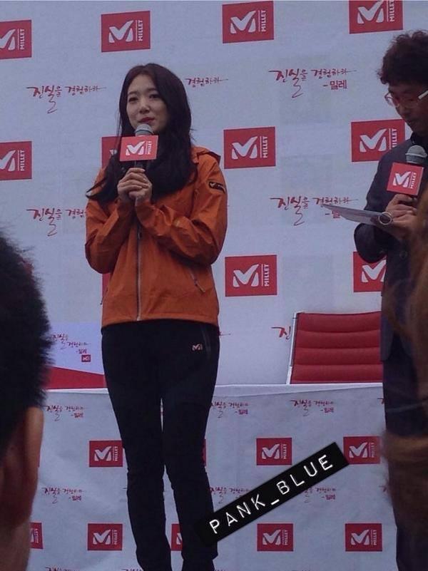 03.10.2014 Park Shin Hye au fanmeeting de Millet  10404410