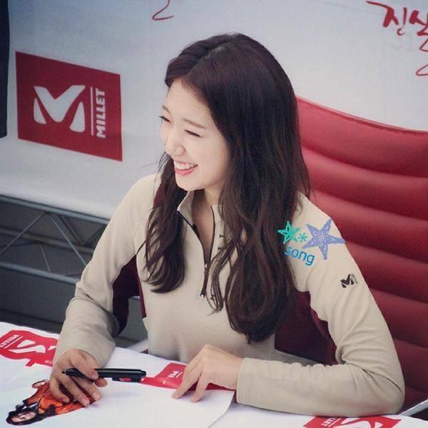 03.10.2014 Park Shin Hye au fanmeeting de Millet  10625110