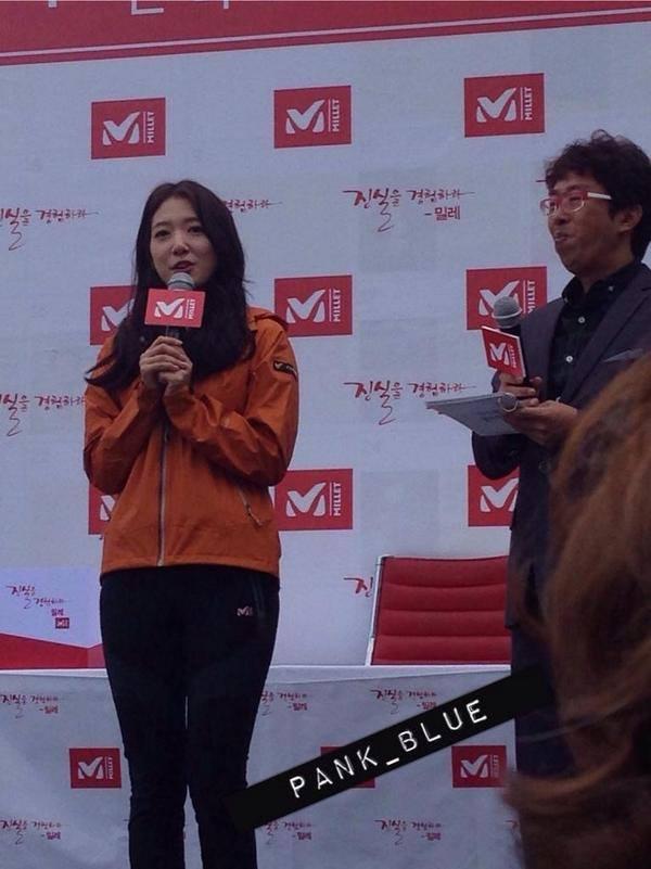 03.10.2014 Park Shin Hye au fanmeeting de Millet  10678610